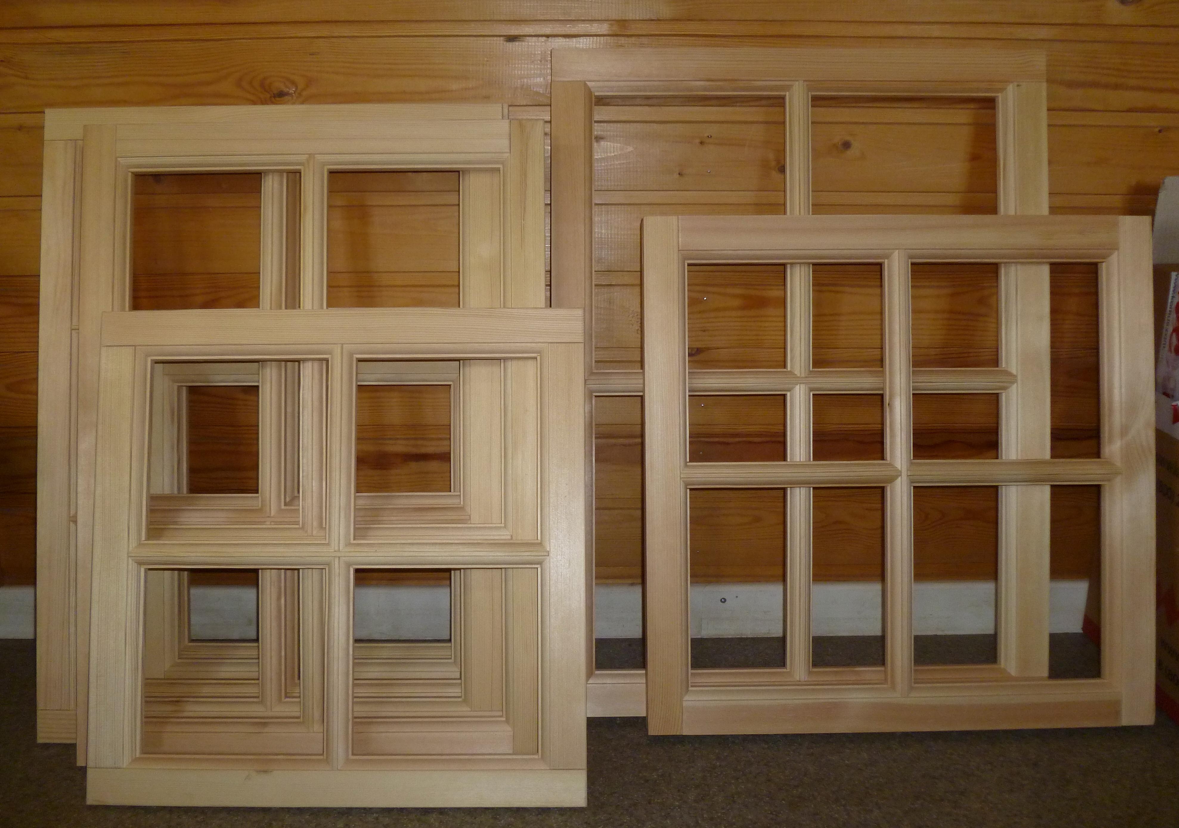 Дачные деревянные окна своими руками 72